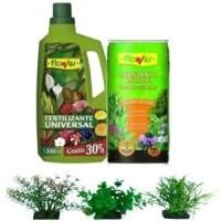 Fertilizantes y fungicidas